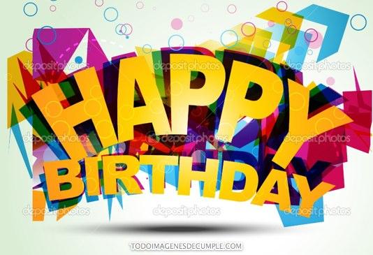 imagenes de feliz cumpleaños happy birthday