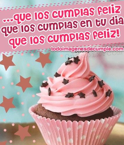 imagenes de cumpleaños con cupcakes