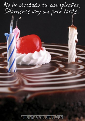 imagenes de feliz cumpleaños atrasado