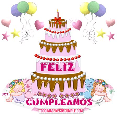 Happy Birthday Luz Cake