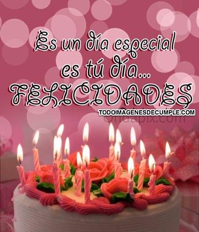 imagenes de cumpleaños con pastel
