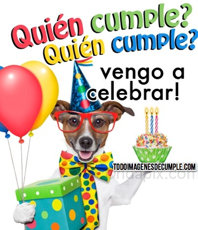 imagenes de cumpleaños con perritos