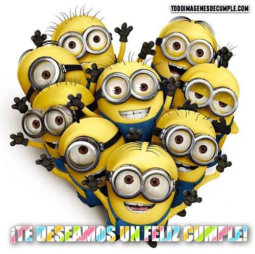 imagenes de feliz cumpleaños con minions