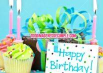 Imágenes de cumpleaños happy birthday con globos