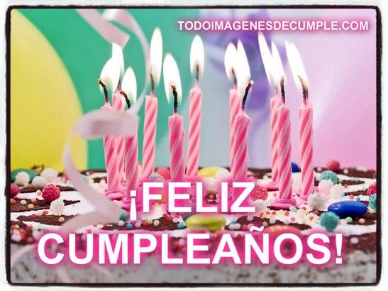 imagenes de feliz cumpleaños con pastel