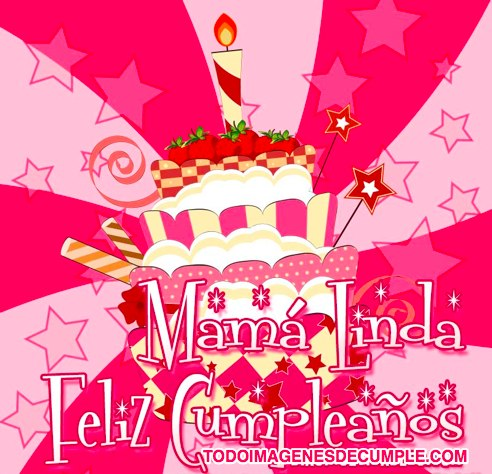 Imagen para desear feliz cumpleaños a las madres