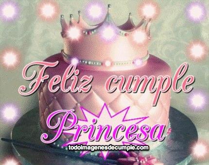 Imágenes feliz cumple princesa - Imágenes de Cumpleaños