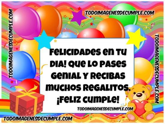 felicidades en tu cumpleaños