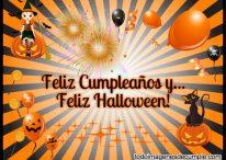 Feliz Cumpleaños y Feliz Halloween