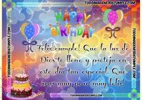 Imagen cristiana evangélica de cumpleaños