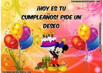 ¡Hoy es tu cumpleaños! Pide un deseo